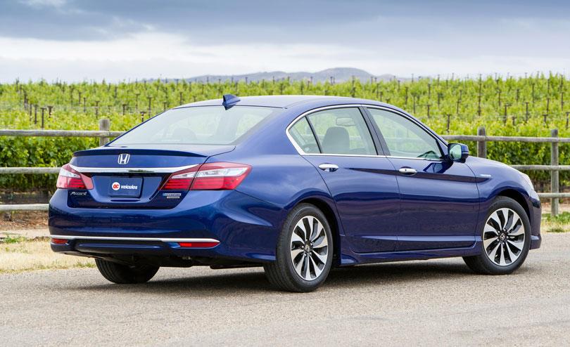 Honda Accord 2017: Foto traseira