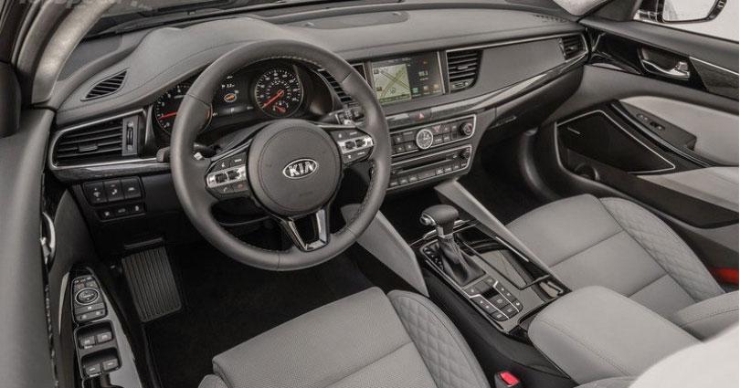 Kia Picanto 2017: Interior e painel