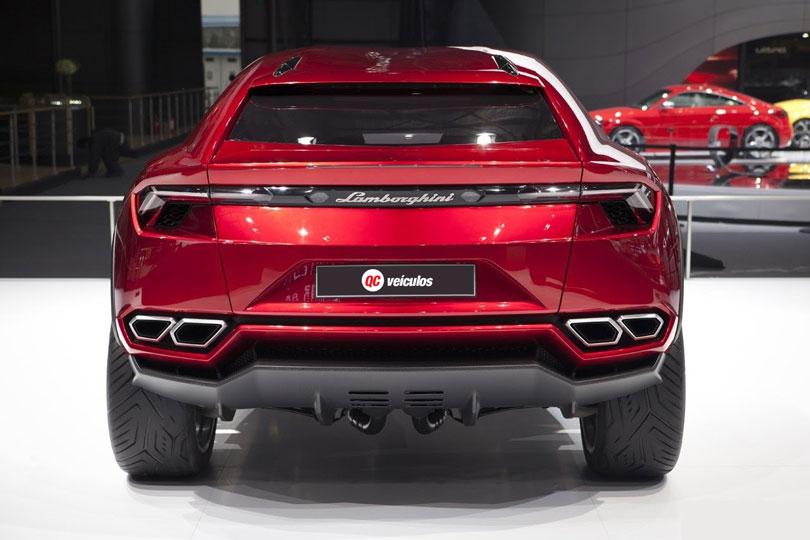 Lamborghini Urus 2018: Foto traseira