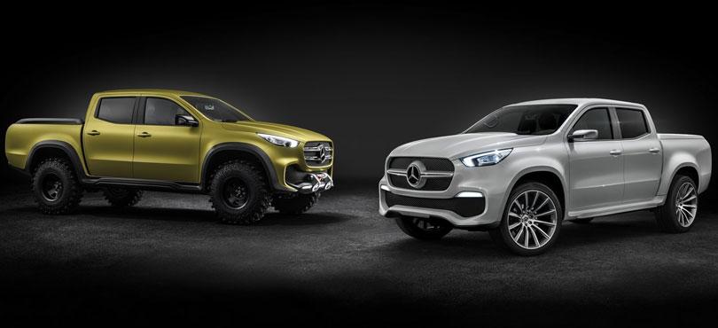 Mercedes Benz Classe X 2018: Versões