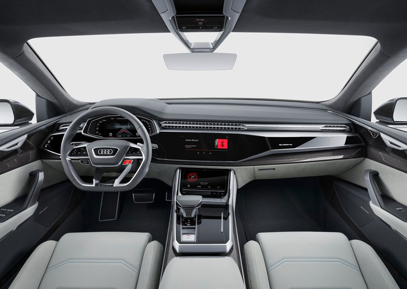 Audi Q8 Concept 2018 interior