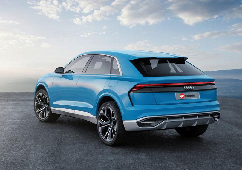 Audi Q8 Concept 2018 traseira
