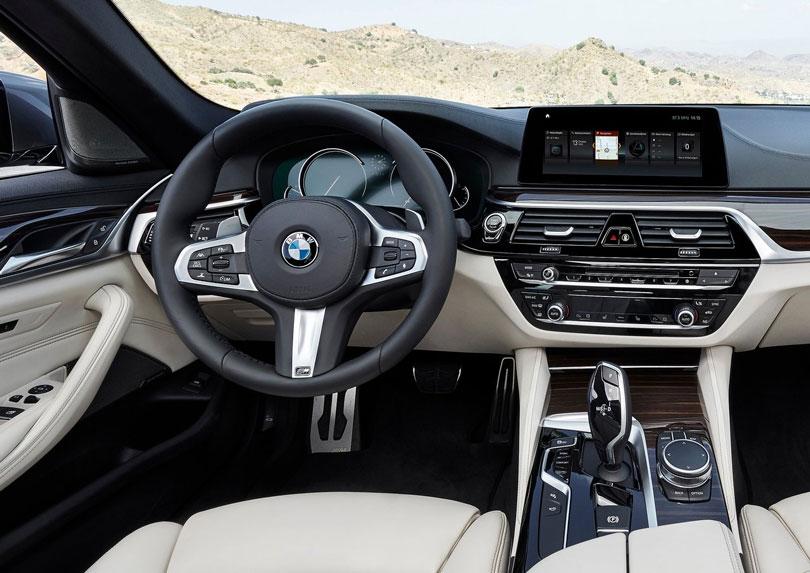 BMW Série 5 2018 M550i interior