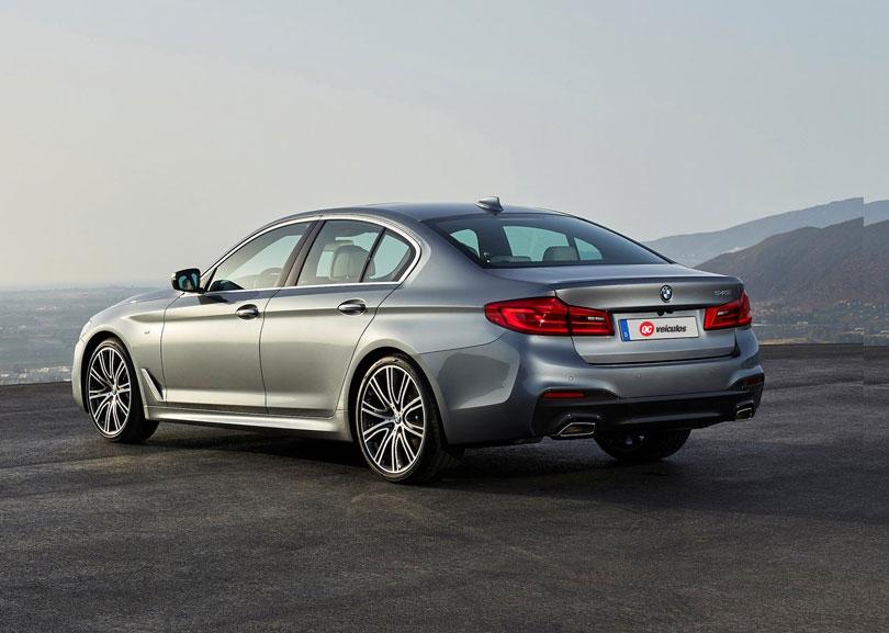 BMW Série 5 2018 M550i traseira