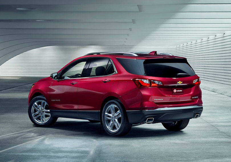Chevrolet Equinox 2018 traseira
