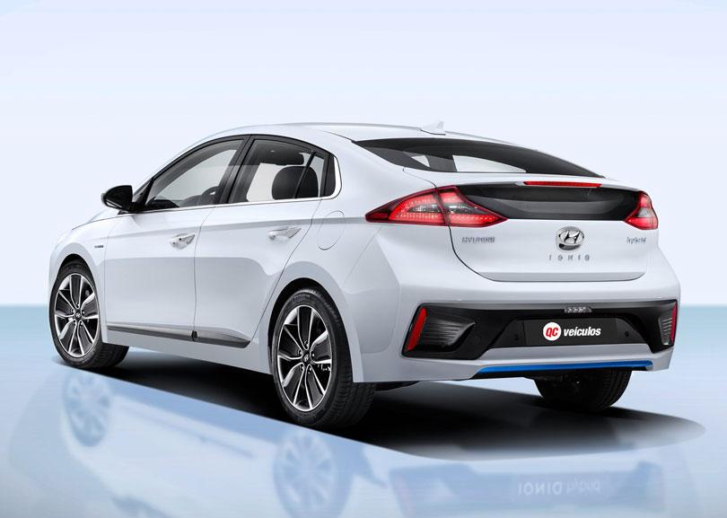Hyundai Ioniq 2017 traseira