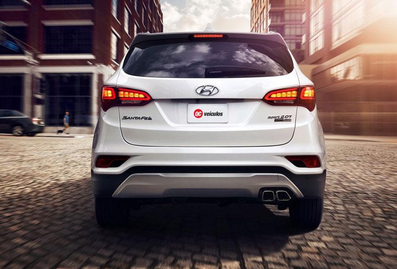 Hyundai Santa Fe 2018 traseira