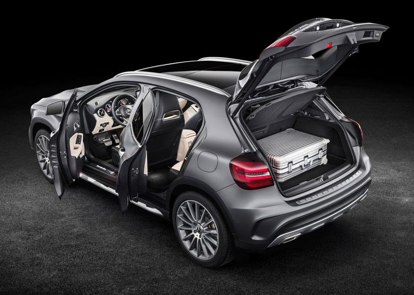 Mercedes-Benz GLA 2018 traseira
