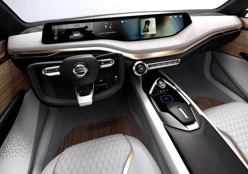 Nissan Vmotion 2.0 Concept 2017 interior