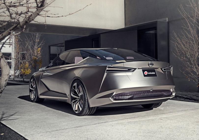Nissan Vmotion 2.0 Concept 2017 traseira