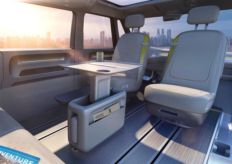 Volkswagen I.D. Buzz 2017 interior