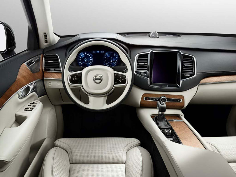 Volvo XC90 2017 interior