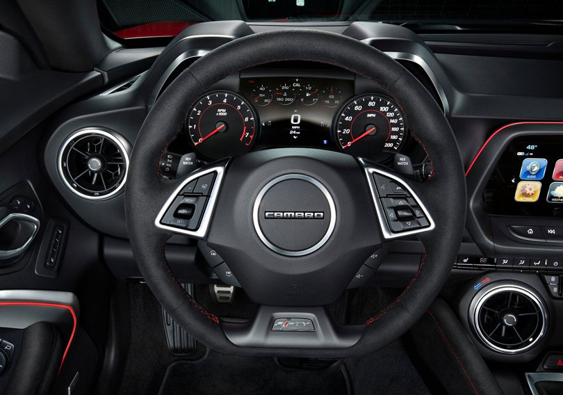 Chevrolet Camaro 2018 interior