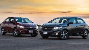 Chevrolet Onix e Prisma 2018