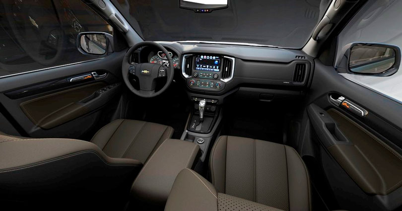 Chevrolet S10 2018 interior