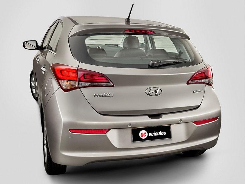 Hyundai HB20 2018 traseira