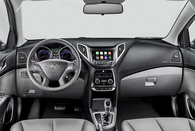 Hyundai HB20S 2018 interior