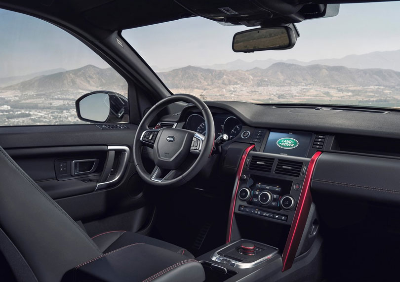 Land Rover Discovery Sport 2017 interior