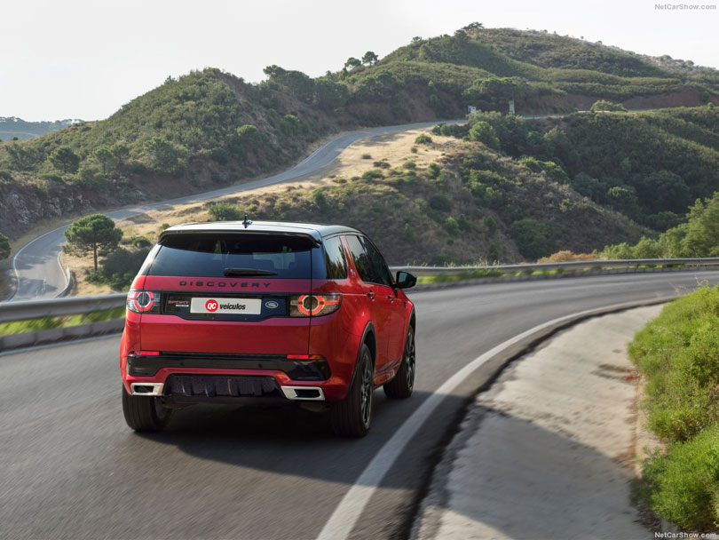 Land Rover Discovery Sport 2017 traseira