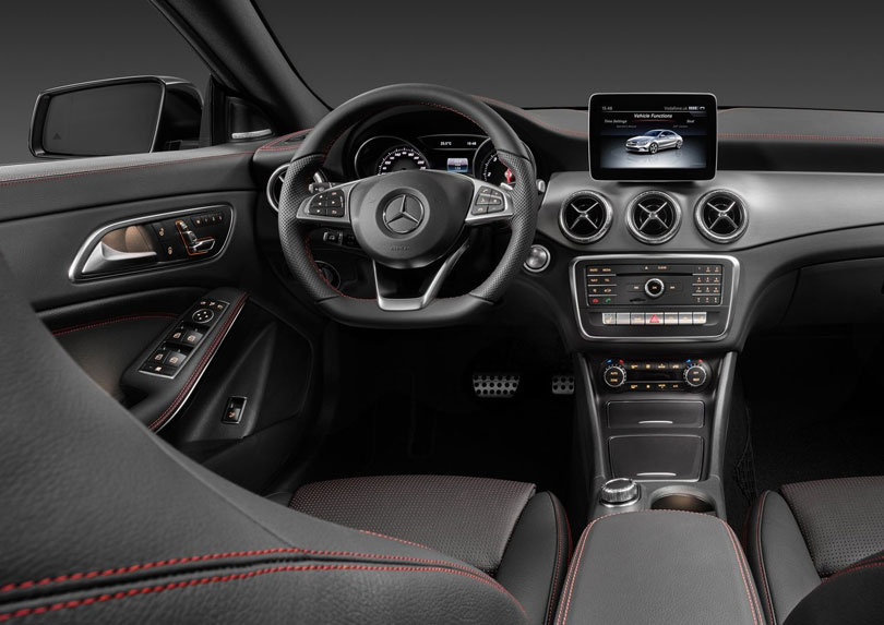 Mercedes-Benz CLA 2017 interior