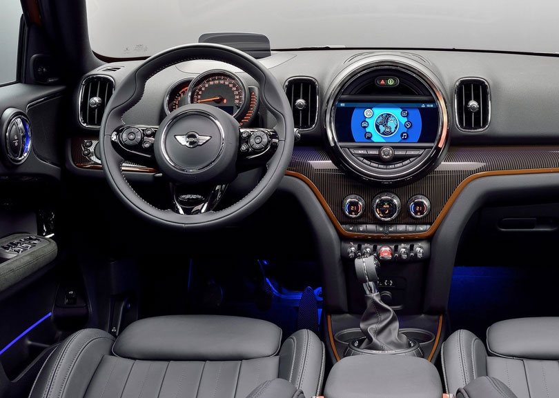 Mini Countryman 2017 interior