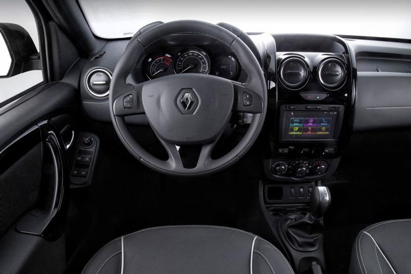 Renault Duster Oroch 2018 interior