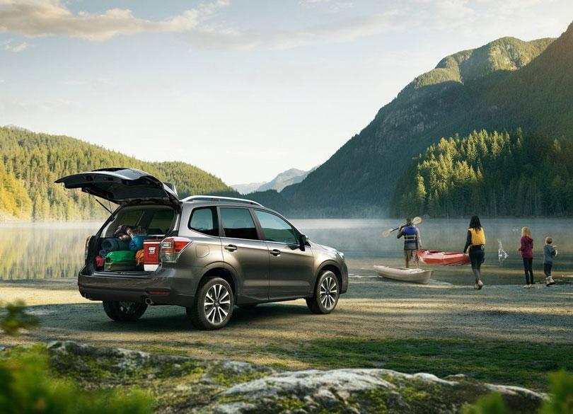 Subaru Forester 2017 traseira
