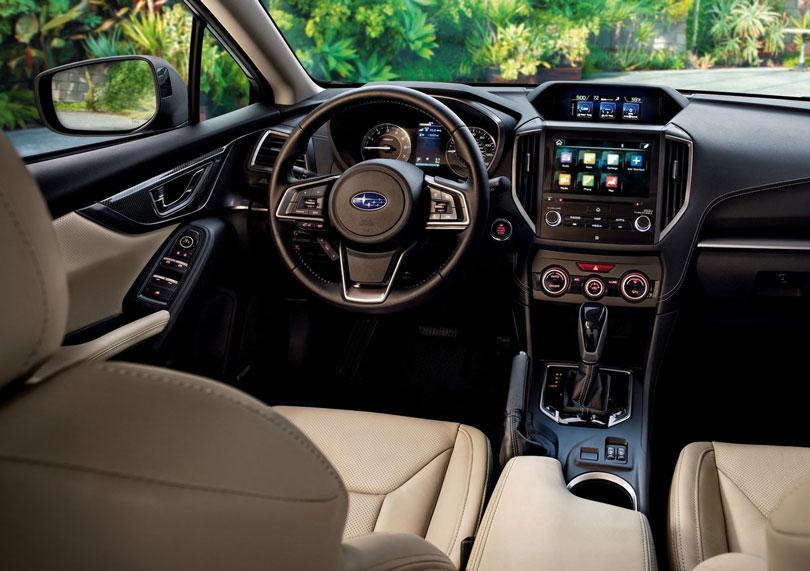 Subaru Impreza 2017 interior