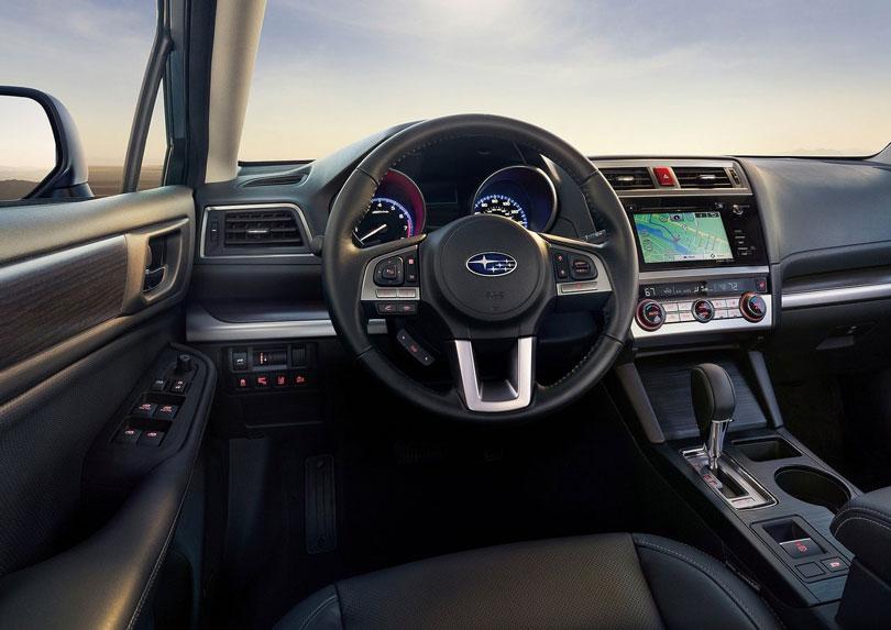 Subaru Legacy 2017 interior