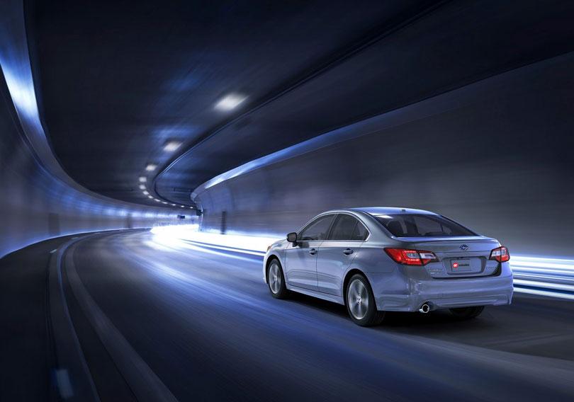Subaru Legacy 2017 traseira