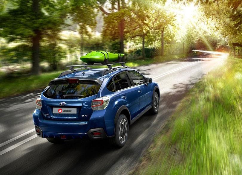 Subaru XV 2017 traseira