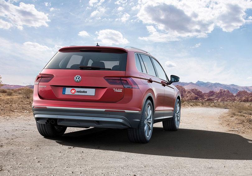 Volkswagen Tiguan 2018 traseira
