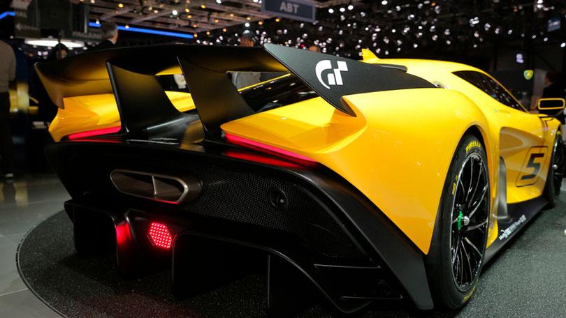 Fittipaldi EF7 Vision Gran Turismo traseira