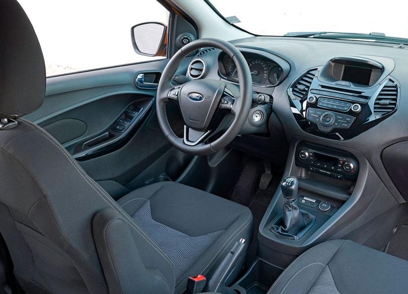 Ford Ka 2018 interior