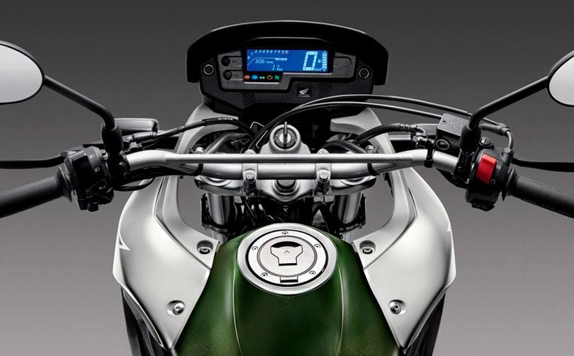 Honda XRE 300 2017 painel