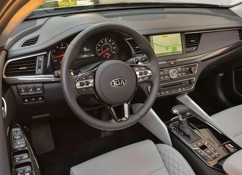 Kia Cadenza 2017 interior