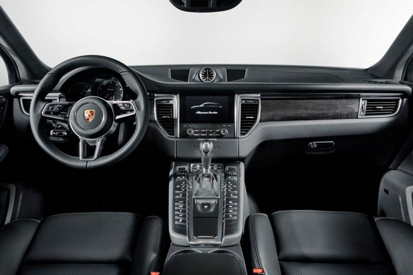 Porsche Macan 2017 interior