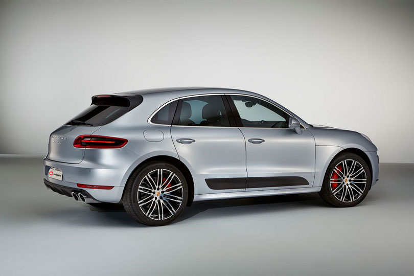 Porsche Macan 2017 traseira