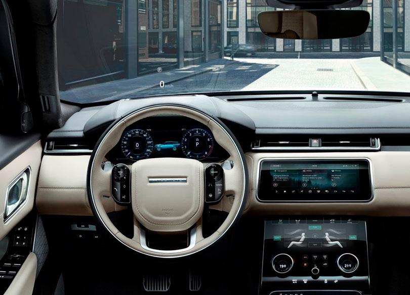 Range Rover Velar 2017 interior