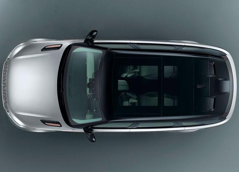 Range Rover Velar 2017 teto