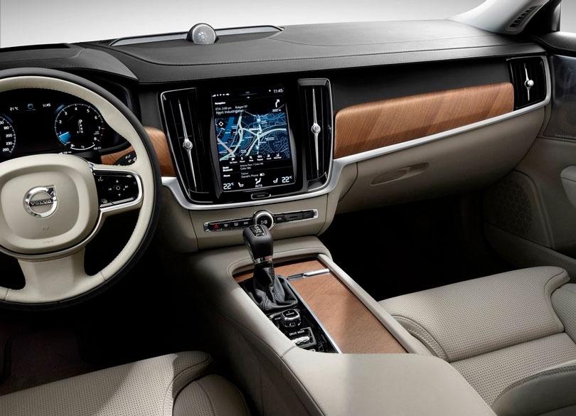 Volvo S90 2017 interior