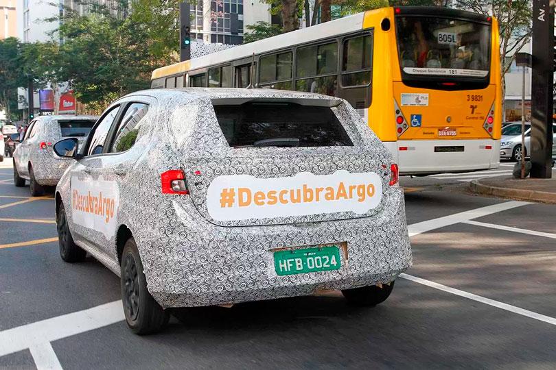 Fiat Argo 2018 traseira