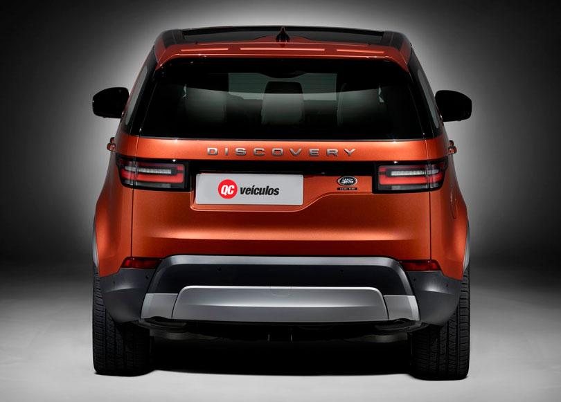 Land Rover Discovery 2018 traseira