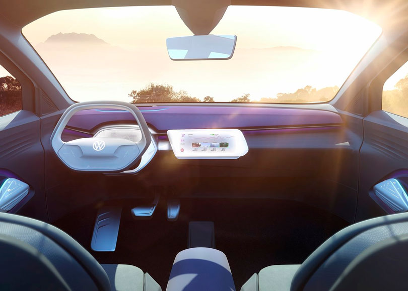 Volkswagen ID Crozz 2017 interior