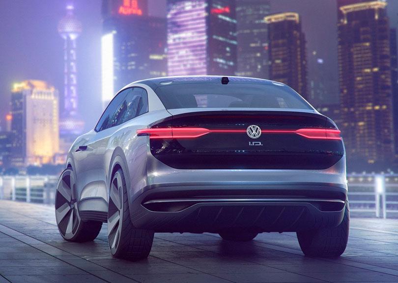 Volkswagen ID Crozz 2017 traseira