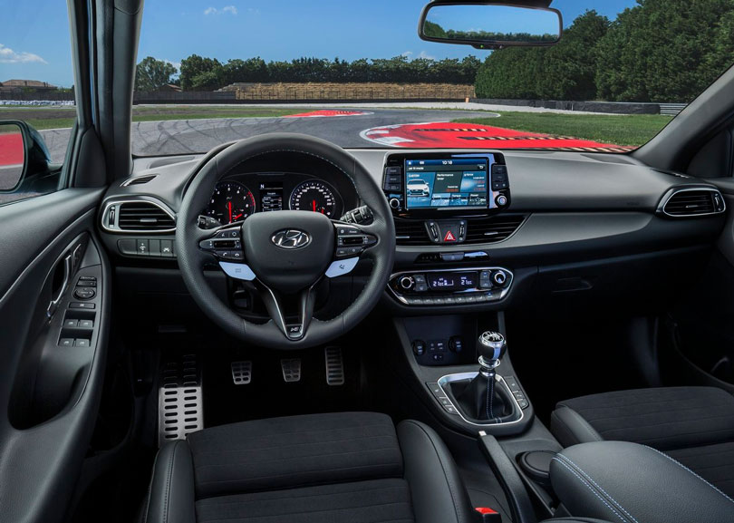 Hyundai i30N 2018 interior