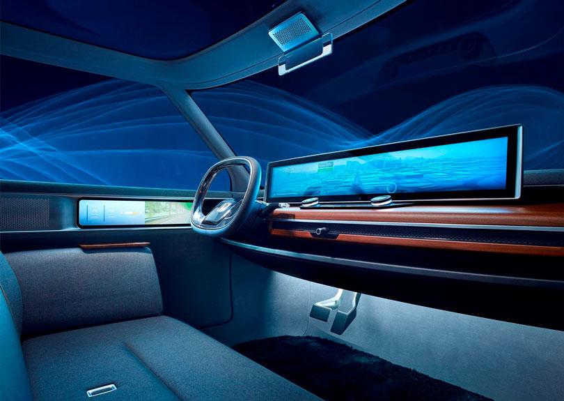 Honda Urban EV 2019 interior