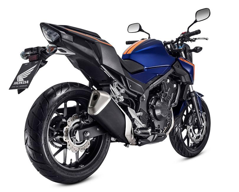Honda CB500 2018 traseira