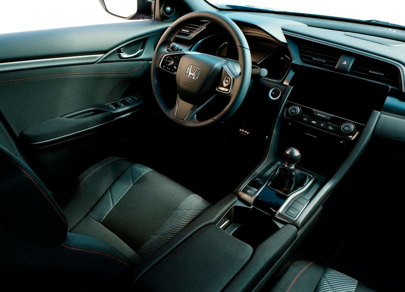 Honda Civic Si 2018 interior