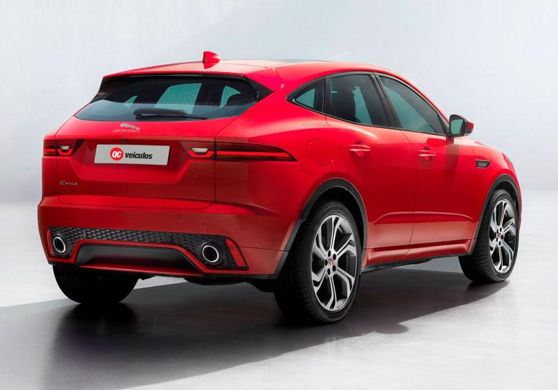 Jaguar E-Pace 2018 traseira